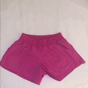 Lululemon pink shorts size 6